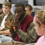 Blankson responds; 'greatest problem' facing colleges today