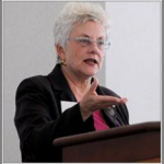 Rosser presents research on the 'science glass ceiling'