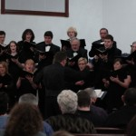 SIUE Choir performing at Center Grove Presbyterian Church