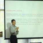 Dr. Zhou presenting at the 2012 CAS Spring Colloquium