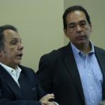 Jorge Hernandez Martinez and Raul Rodriguez presenting at SIUE