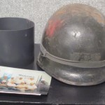 Lawrence Meinzen's Helmet from World War II