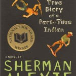 The Absolutely True Diary of a Part-Time Indian book cover, courtesy of www.heardmuseumshop.com