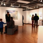 EAC Patrons Viewing SIUE Faculty artwork