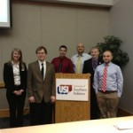 URCA students present research at Indiana Political Science Association Conference