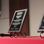 Awards from the 2013 SIUE Social work gala
