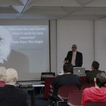"Aldemaro Romero presents his lecture ""Who Was the Real Dawrin"""