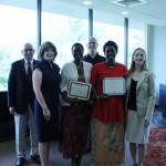 Bentley, Cairo receive International Education Faculty Achievement Award