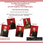 St. Louis Symphony brass quintet to perform outreach concert on campus