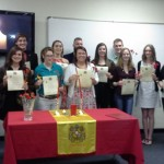 Twelve members inducted into SIUE's first Spanish honor society through ceremony