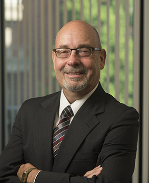 Dean of CAS College of Arts and Sciences Gregory Budzban 08-07-15