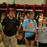 SIUE students help Holiday Shores Fire Dept in traumatic exercise