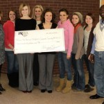 PRSSA lends a hand to the National Children's Cancer Society