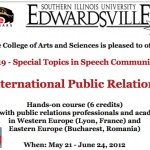 New course gives international exposure