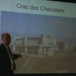 France speaks on crusades, warfare