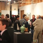 gallery goers at the Spring 2012 SIUE BFA exhibition