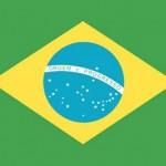 The flag of Brazil