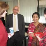 CAS hosts third International Faculty Reception