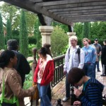 Ottoman history class utilizes SIUE Gardens and ENRICH for learning