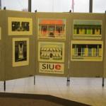 Emilio Sanchez art displayed in TheBANK of Edwardsville
