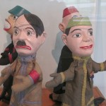 Hand puppets from Proctor Puppets collection