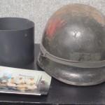 Lawrence Meinzen's Helmet from World War II