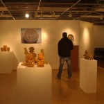 Pre-Columbian artifacts on display at Edwardsville Arts Center