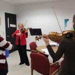 Vera Mcoy-Sulentic teaching at SIUE
