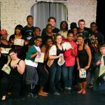 Cast and Crew from the 2013 Black Theater Workshop at SIUE