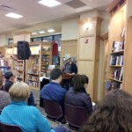 River Bluff Review writers read their work at University Bookstore