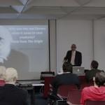 """Aldemaro Romero presents his lecture """"Who Was the Real Dawrin"""""""