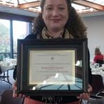 English graduate student receives Outstanding Teacher Assistantship Award