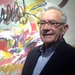 Emeritus professor draws in crowds for exhibition, reflects upon 50-year painting career