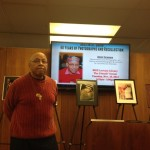 Friends, students and lovers of Jazz gather at Lovejoy Library, hear Crenshaw discuss his photography