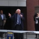 SIUE students share volunteer experience during Bernie Sanders' rally