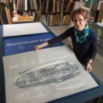 SIUE Receives Prints of Original Buckminster Fuller Artworks
